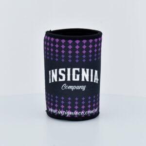 Stubby Cooler - Purple Diamond - Promotional - Merchandise - Insignia Company - Purple Diamond